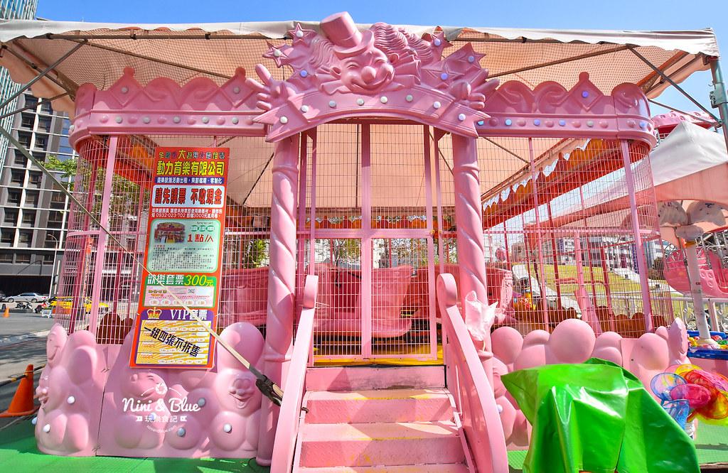 台中摩天輪 草悟道 勤美 粉紅遊樂園10