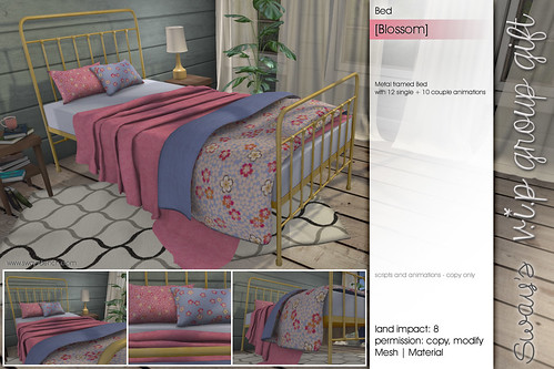 Sway's [Blossom] Bed | VIP Gift
