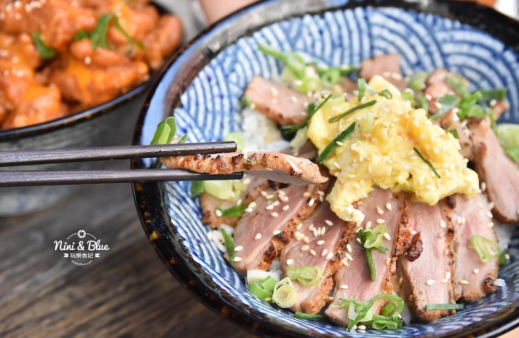 台中丼飯 沐丼 菜單 勤美草悟道美食17