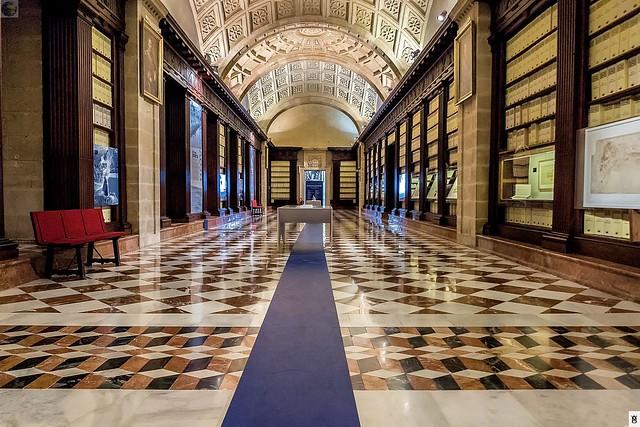 Archivo General de Indias. Sevilla. Sala lateral