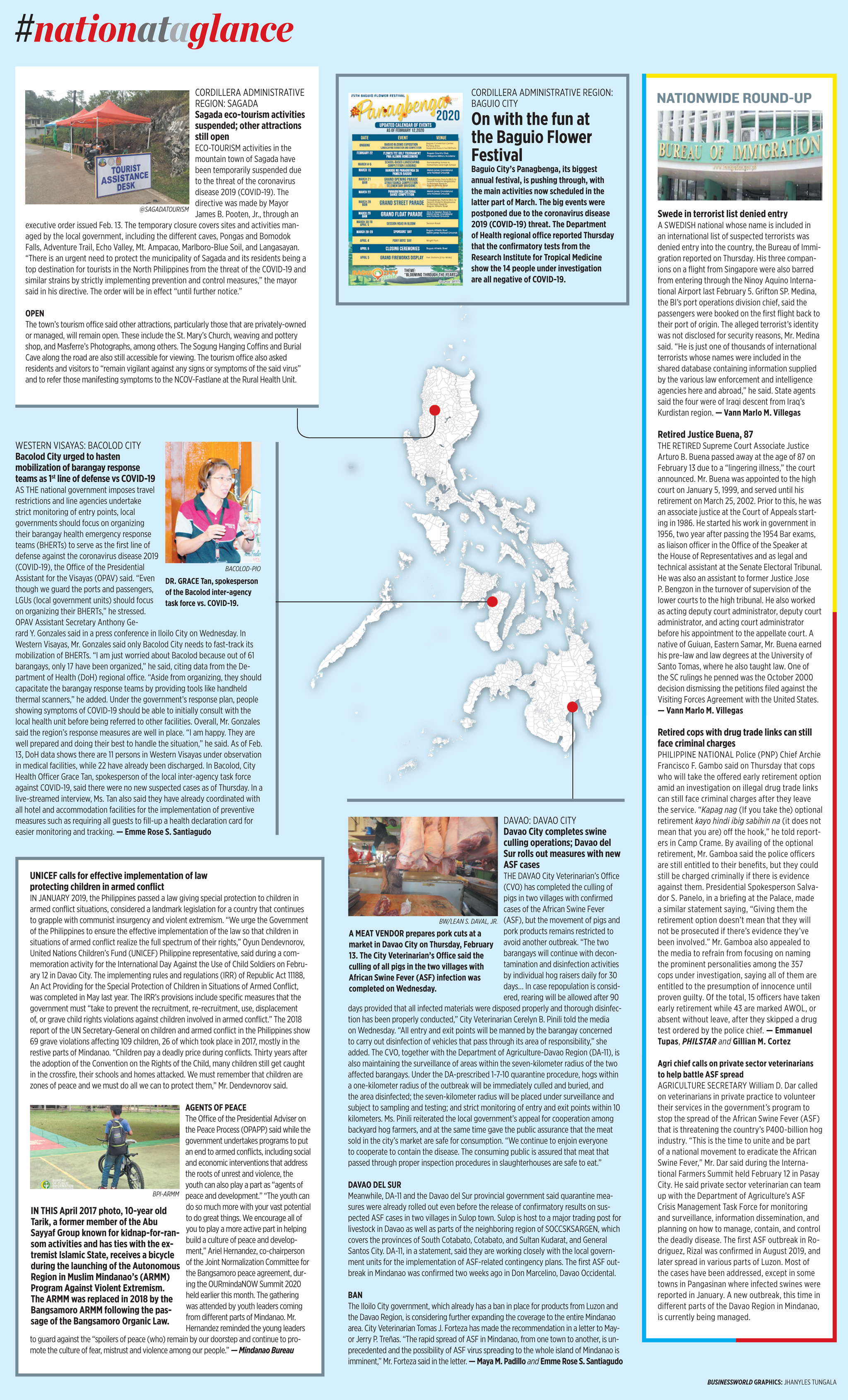 Nation at a Glance — (02/14/20)