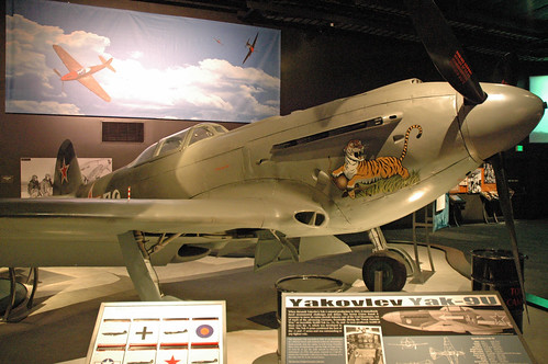 Yakovlev Yak-9U at the Museum of Flight, Seattle