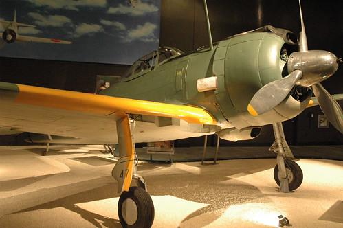 Nakajima Ki-43-IIIa Hayabusa at the Museum of Flight, Seattle