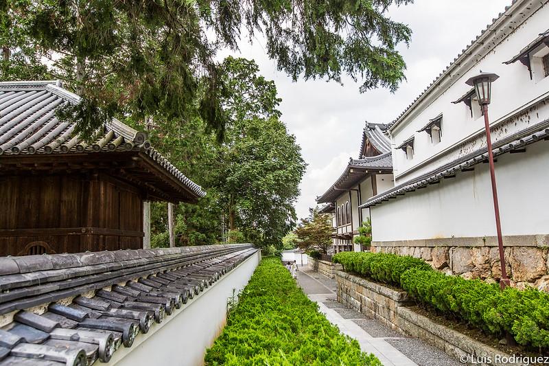 Callejuela que sale del templo Nanzen-ji hacia el templo Eikan-do