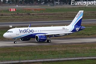 F-WWDF Airbus A320 Neo Indigo