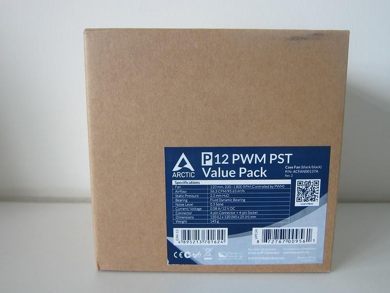 Arctic P12 PWM PST Fan - Box Front