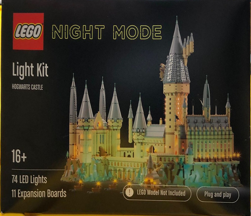 LEGO Night Mode Concept Products