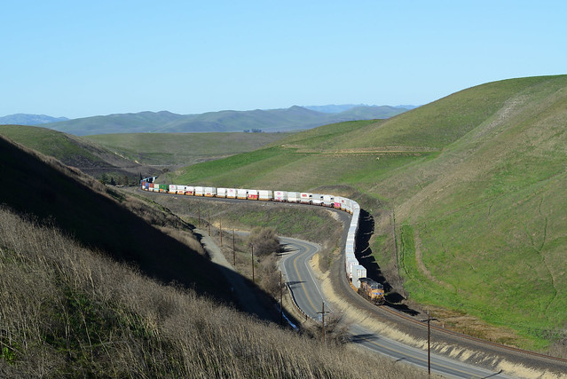 Descending Altamont Pass