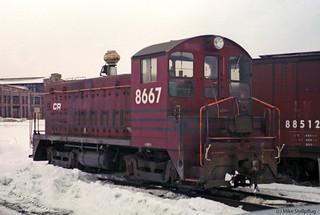 Conrail 8667 Roster