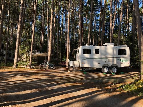 Lake Superior - Our campsite