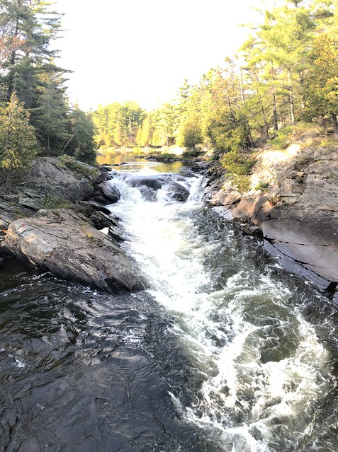 Chutes - one of the many falls