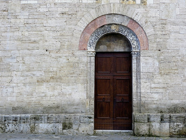 The Church of San Silvestro, Bevagna, Umbria, Italy