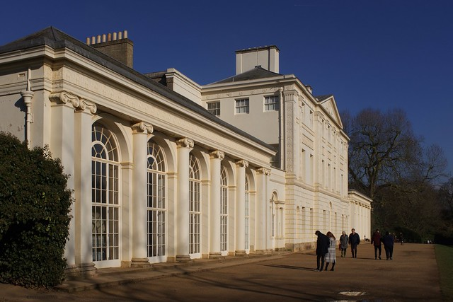 Kenwood House on a bright Winter day …