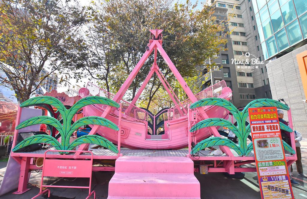 台中摩天輪 草悟道 勤美 粉紅遊樂園11