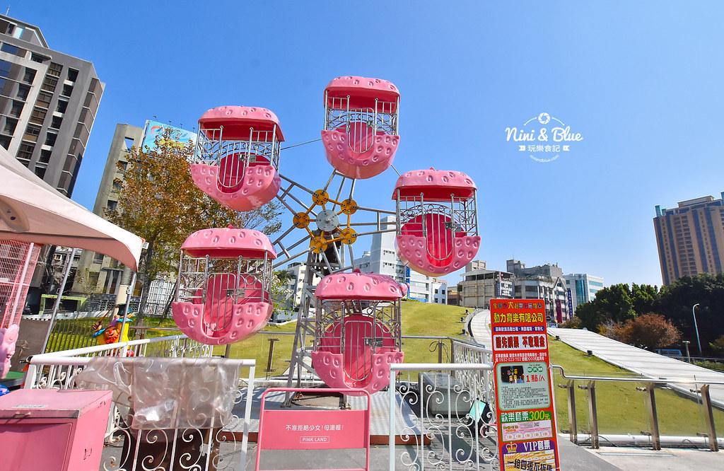 台中摩天輪 草悟道 勤美 粉紅遊樂園08