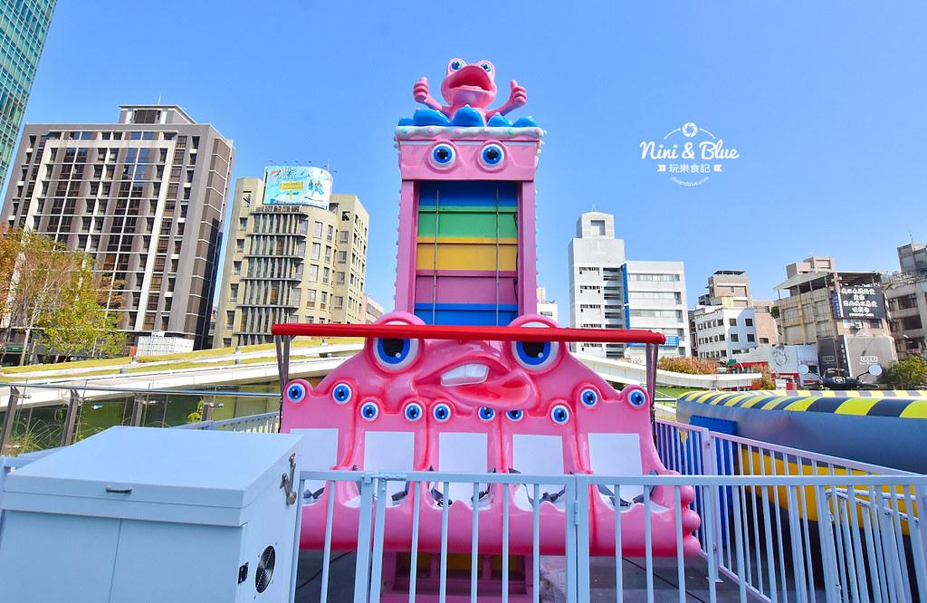 台中摩天輪 草悟道 勤美 粉紅遊樂園06