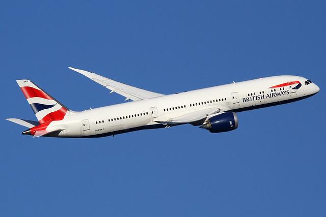 G-ZBKD | British Airways Boeing 787-9 Dreamliner | London Heathrow Airport EGLL/LHR | 29/11/19