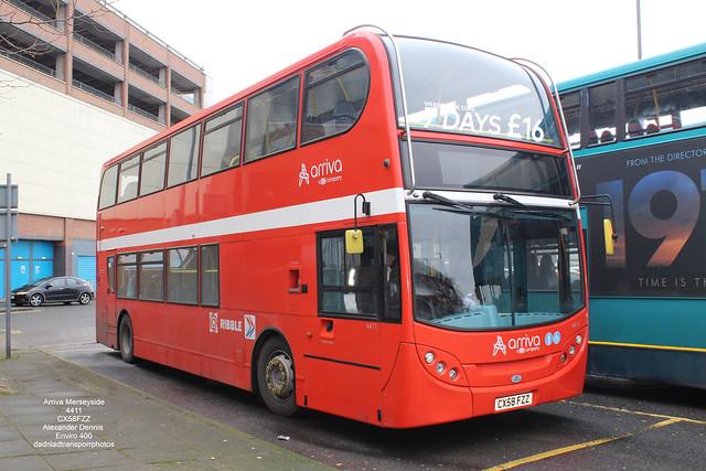 Arriva Merseyside - 4411