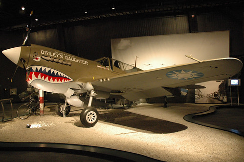 Curtiss P-40N Warhawk at the Museum of flight, Seattle