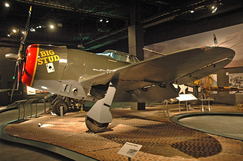 Republic P-47D Thunderbolt at the Museum of Flight, Seattle