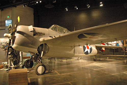 General Motors FM-2 Wildcat at the Museum of Flight, Seattle