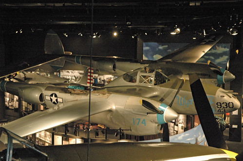 Lockheed P-38L Lightning at the Museum of Flight, Seattle