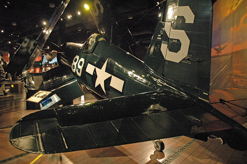 Goodyear FG-1D Corsair at the Museum of Flight, Seattle