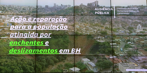 Audiência pública para debater a situação de emergência e calamidade pública de Belo Horizonte - Comissão de Direitos Humanos e Defesa do Consumidor