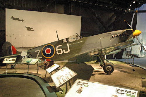 Supermarine Spitfire LF Mk. IX at the Museum of Flight, Seattle