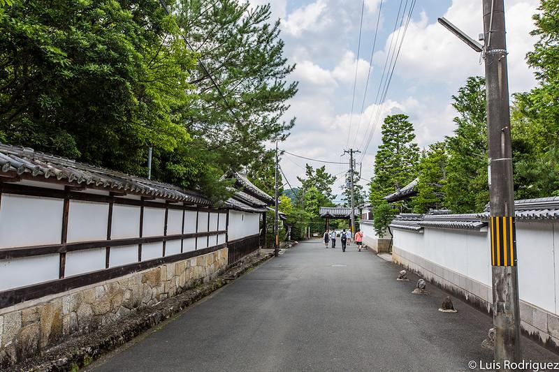 Callejuelas cercanas al templo Nanzen-ji