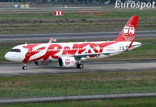 9K-CBE Airbus A320 Neo Jazeera
