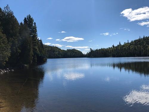 Lake Superior - view down Orphan Lake