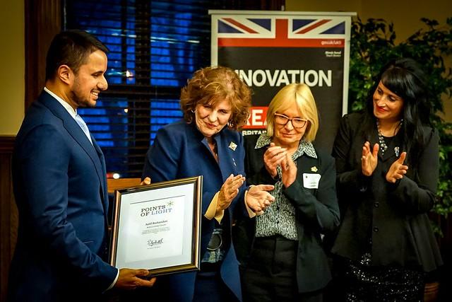 Commonwealth Points Of Light Award - Edmonton