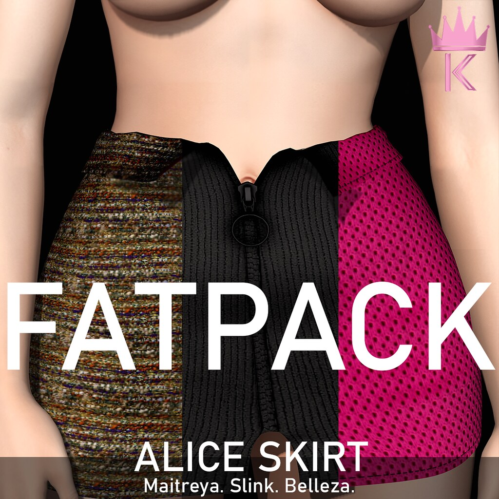 .KIMBRA. – ALICE SKIRT [FATPACK]