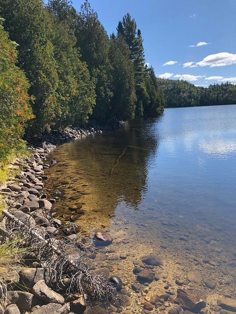 Lake Superior - shore of Orphan Lake