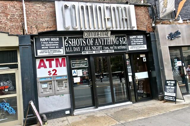 Continental Bar, New York, NY