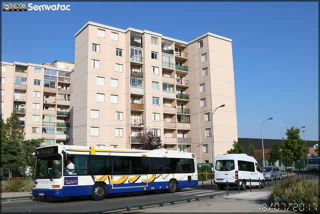 Heuliez Bus GX 317 – CAP Pays Cathare (Transdev) n°73016 / Tisséo & Mercedes-Benz Sprinter – Grand Sud (Alcis) / Tisséo