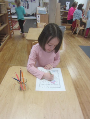 sight word coloring work