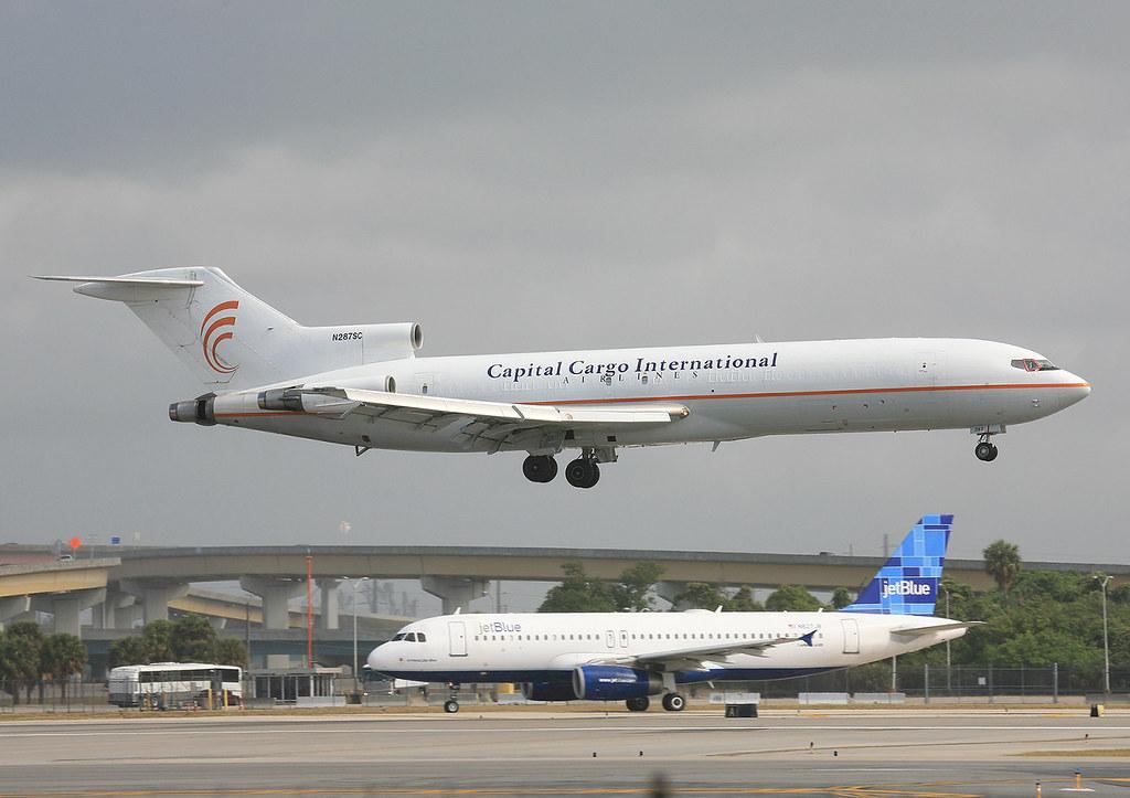 N287SC, Boeing 727-2A1 Capital Cargo @ Ft. Lauderdale FLL KFLL