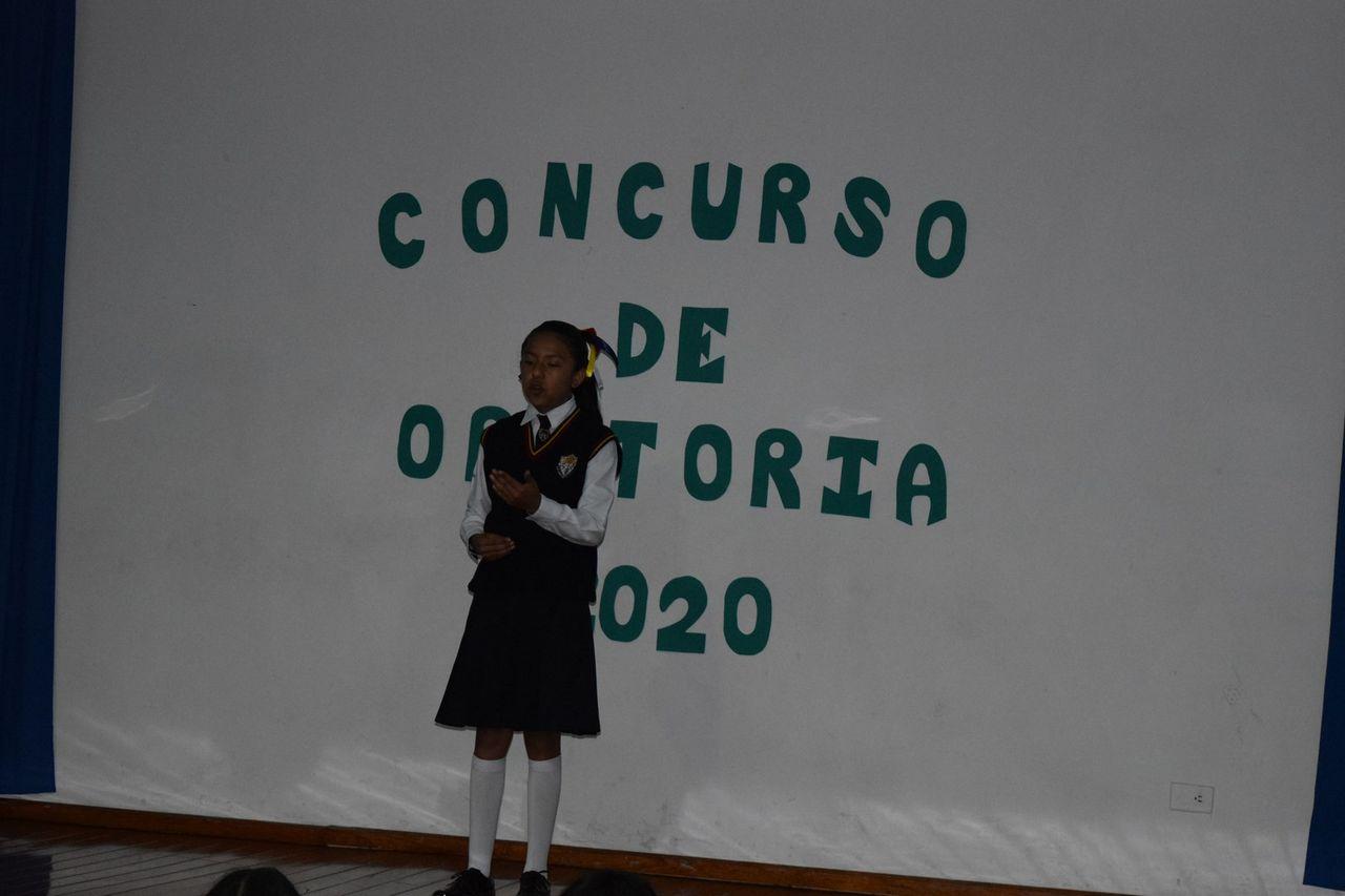 Concurso Interno de Oratoria 2020