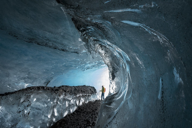 Just chilling (Vatnajokull Icecaves, Iceland)