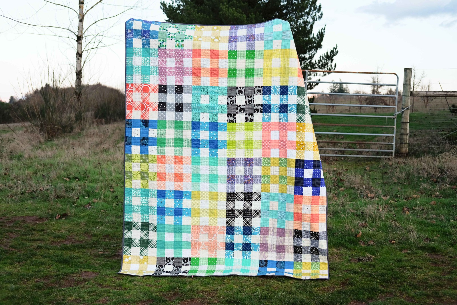 A Twin Size Quilt - Kitchen Table Quilting