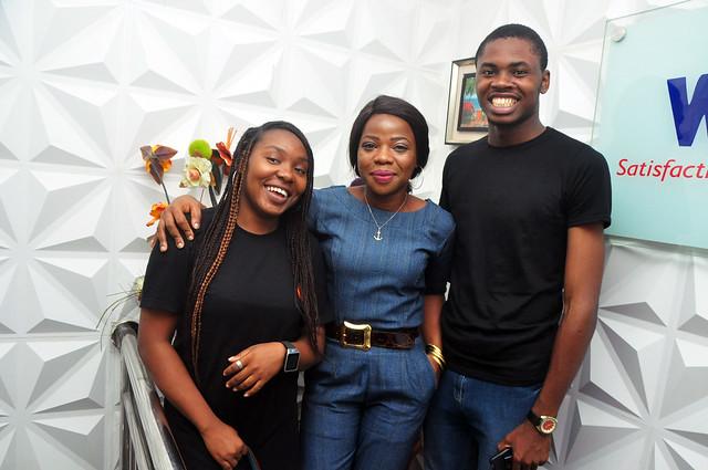 Curator, Joyce Onyemuwa and Licensee