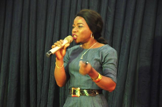 Joyce Onyemuwa Speaking
