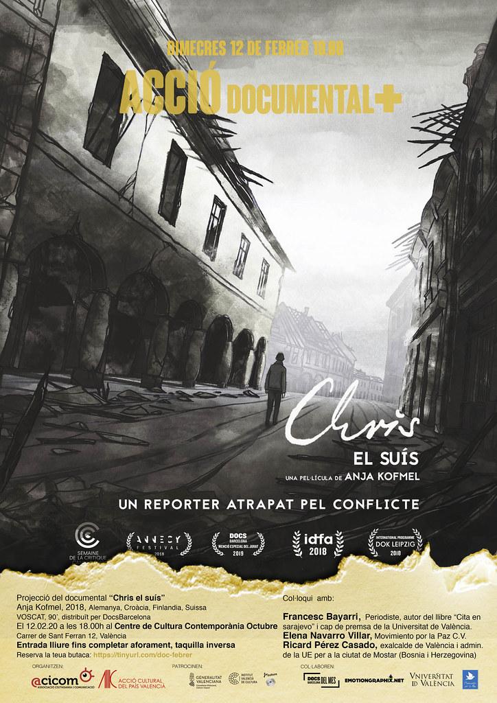 20200212 CHRIS EL SUÍS, Acció Documental +