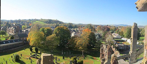Melrose From Roof of Melrose Abbey