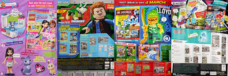 LEGO Magazines Feb Next Month