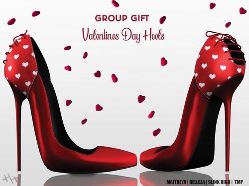 Hilly Haalan - Group Gift Valentine's Day Heels