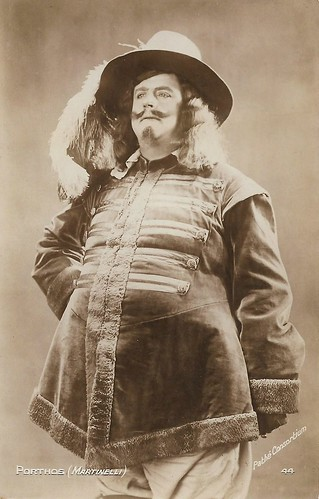 Charles Martinelli as Porthos in Les trois mousquetaires