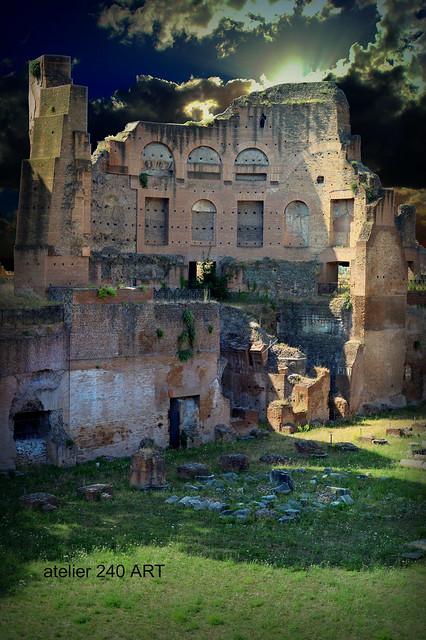 Domus Severiana-Palatino-Roma